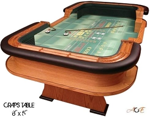 San Diego Casino Quality Craps Table Rental